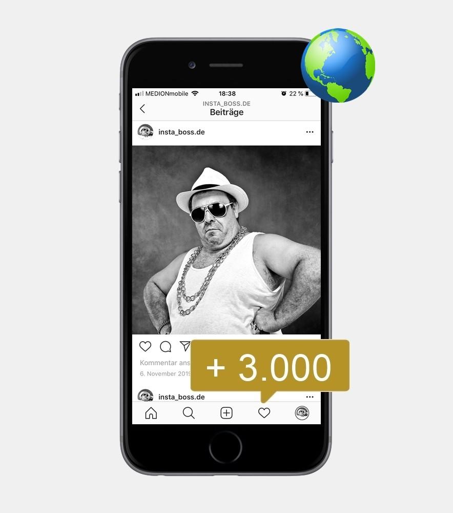 3.000 Instagram Mentions - International kaufen