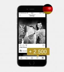 2.500 Instagram Video Views kaufen