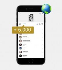 5.000 Instagram Story Views - International kaufen