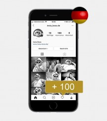 100 Instagram Follower - Deutsch kaufen