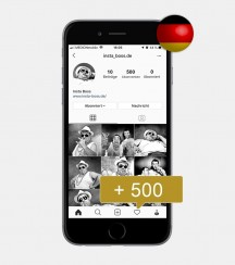 500 Instagram Follower - Deutsch kaufen