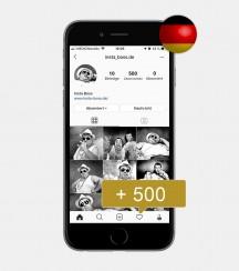 500 Instagram Follower - Deutsch kaufen