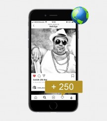 250 Instagram Likes - International kaufen