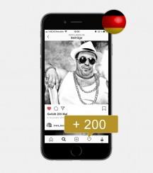 200 Instagram Likes - Deutsch kaufen