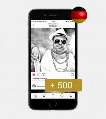 500 Instagram Likes - Deutsch kaufen