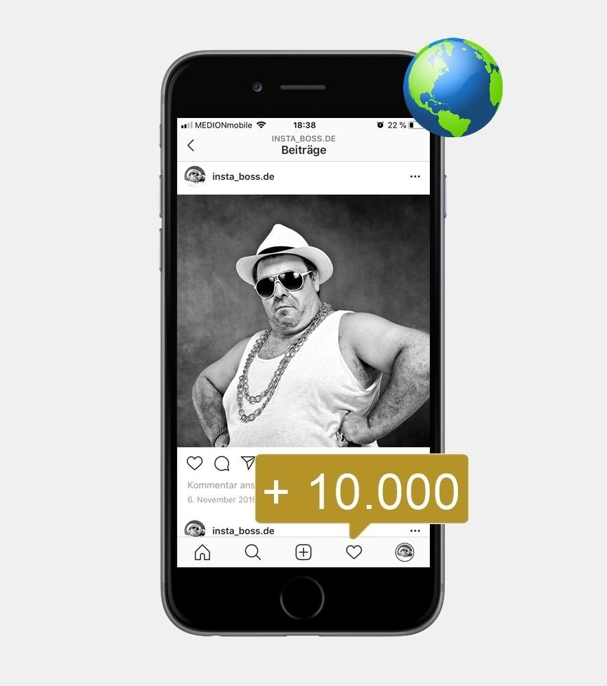 10.000 Instagram Mentions - International kaufen